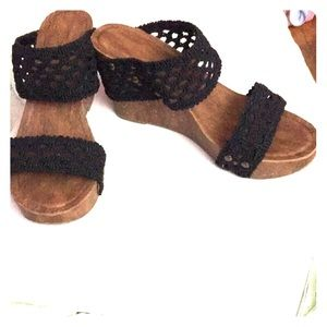Cato Shoes - Summer brown wedges